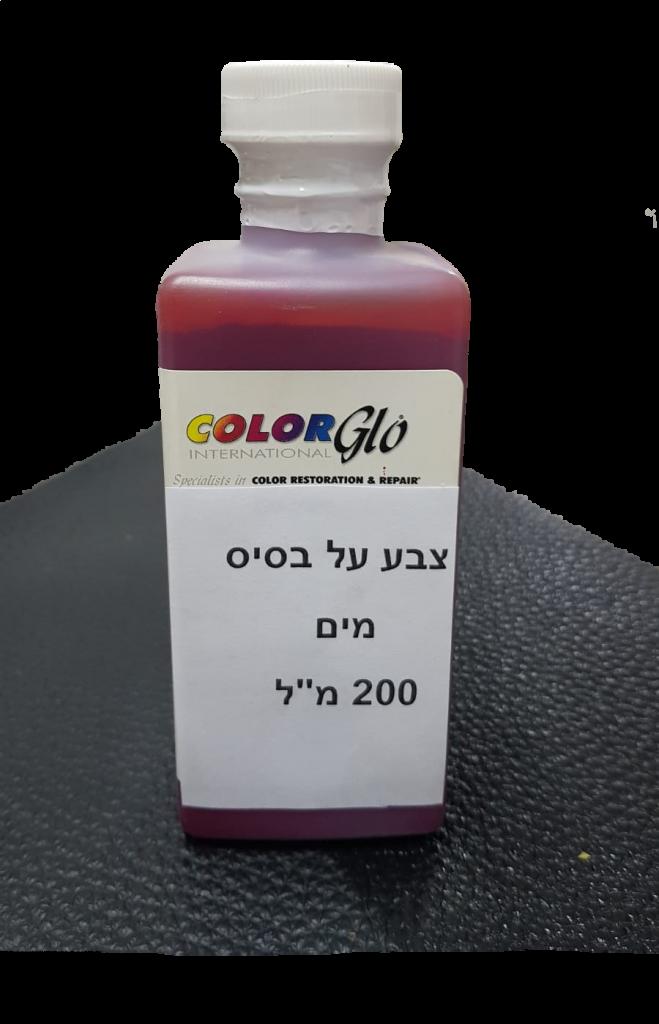 צבע על בסיס מים מקצועי לעור ודמוי עור